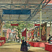 View Of The India Section Of The Great Poster