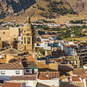 View Of The Town Loja In Granada Province Poster