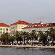 Views Of Split Croatia Poster