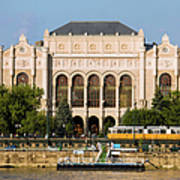 Vigado Concert Hall In Budapest Poster