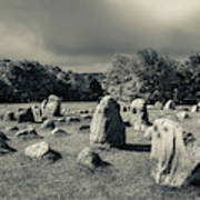 Viking Burial Ground, Lindholm Hoje Poster