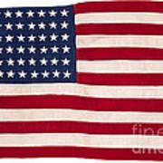 Vintage American Flag Poster