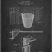 Vintage Basketball Goal Patent From 1925 Poster by Aged Pixel