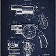 Vintage Pistol Patent From 1892 Poster