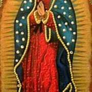 Virgen De Guadalupe - Guadalupe Virgin - Lady Of Guadalupe Poster