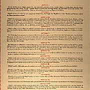 Virginia Constitution, 1776 Poster