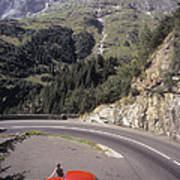 Vw In Susten Pass Poster