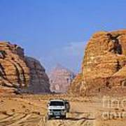 Wadi Rum In Jordan Poster by Robert Preston