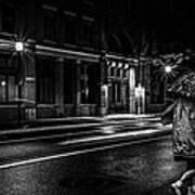 Walking In The Rain   Poster by Bob Orsillo