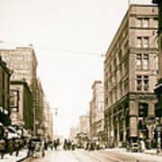 Walnut Street - Kansas City 1906 Poster