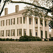 Warren Stone House In Alabama Poster
