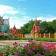 Wat Tha Sung Temple In Uthaithani-thailand Poster