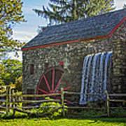 Wayside Inn Grist Mill Poster