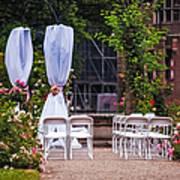Wedding Arrangement In De Haar Castle. Utrecht Poster