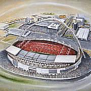 Wembley Stadium Poster