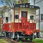 Western Maryland Caboose  Poster