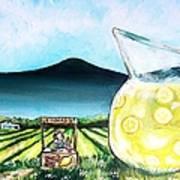 When Life Gives You Lemons Poster by Shana Rowe Jackson