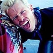 Billy Idol - Whiplash Smile Poster