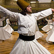 Whirling Dervishes Poster