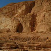 White Canyon Sinai Desert Egypt Poster