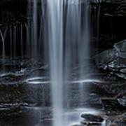 Wilderness Waterfall Poster