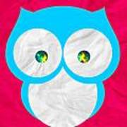 Wise Owl Poster