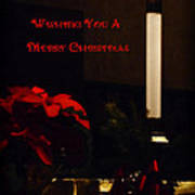 Wishing You A Merry Christmas Poster