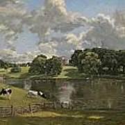 Wivenhoe Park  Essex Poster