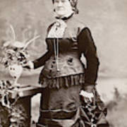 Women's Fashion, 1880s Poster