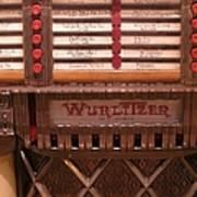 Wurlitzer Player Poster