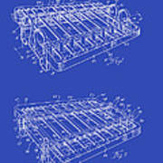 Xylophone Patent 1949 Poster