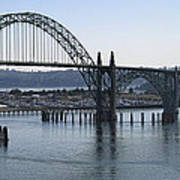 Yaquina Bay Bridge - Newport Oregon Poster by Daniel Hagerman