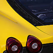Yellow F430 Poster