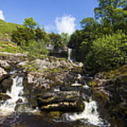 Yorkshire Dales Waterfall Poster