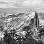 Yosemite Bw Poster