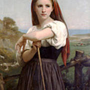 Young Shepherdess Poster