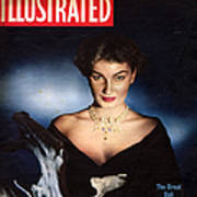 1950s Uk Illustrated Magazine Cover Poster by The Advertising Archives