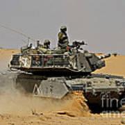 An Israel Defense Force Magach 7 Main Poster