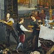 Breugel, Jan, The Elder, Called Velvet Poster