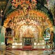 Church Of The Holy Sepulchre In Jerusalem Poster