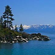 Lake Tahoe Photography Art Poster