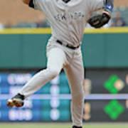 New York Yankees v Detroit Tigers Poster