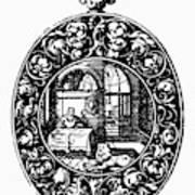 Pocket Watch, 19th Century Poster
