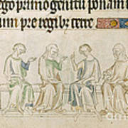 Queen Mary Psalter Poster