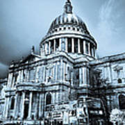 St Paul's Cathedral London Art Poster by David Pyatt
