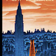 New Yorker January 12th, 2009 Poster