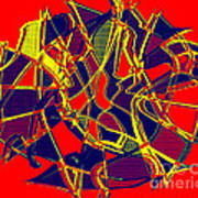 1010 Abstract Thought Poster