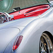 1960 Chevrolet Corvette Poster by Jill Reger