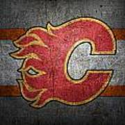 Calgary Flames Poster
