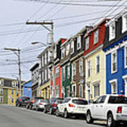 Saint John's. Newfoundland. Poster